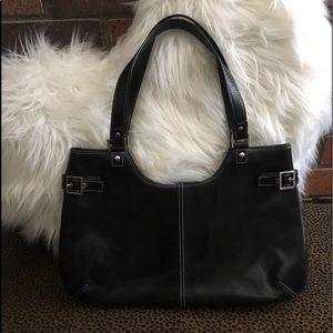 Nordstrom Black Leather Purse